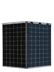 JA Solar 310W Mono Perc Bifacial dubbel glas zwart frame