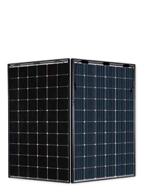 JA Solar 315W Mono Perc Bifacial dubbel glas zwart frame
