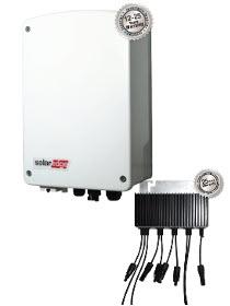1kW 1-fase omvormer met compacte technologie - uitgebreide versie