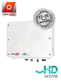 SolarEdge 3680W 1-fase HD Wave omvormer ZONDER DISPLAY