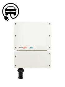 SolarEdge 3680W 1-fase HD-Wave omvormer ZONDER DISPLAY met laadstation voor de elektrische auto
