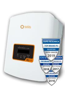 Solis 2.5kW Mini 4G Single Tracker met DC Isolator